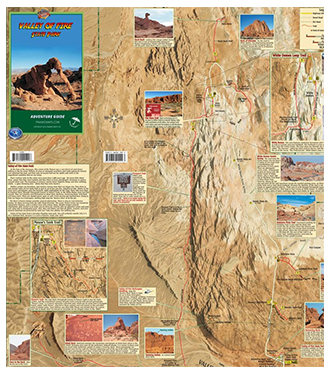 Franko Maps Valley of Fire Guide Map